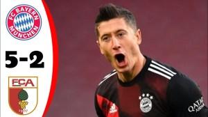 Bayern Munich vs Augsburg 5 - 2 (Bundesliga Goals & Highlights 2021)