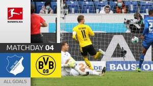 Hoffenheim vs Dortmund 0 - 1   Bundesliga All Goals And Highlights (17-10-2020)