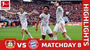 Bayer  Leverkusen vs Bayern München 1 - 5 (Bundesliga 2021 Goals & Highlights)