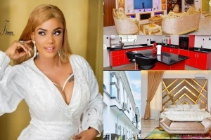 See The Luxurious Interior Of Actress Iyabo Ojo's Multi-Million Naira Mansion (PHOTOS)
