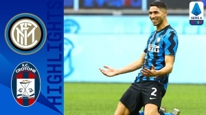 Inter vs Crotone 6 - 2 (Serie A Goals & Highlights)