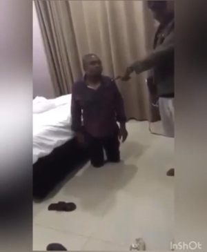 """""""I Have The Right To Kill You"""" – Man Says After Catching Wife In A Hotel With Another Man (Watch Video)"""