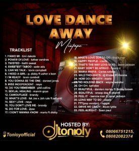 DJ Tonioly - Love Dance Away Mixtape (Love & Romance Mix)