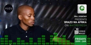 Brazo Wa Afrika – Hit Refresh Mix (14-May)