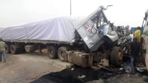 Family Of Four Crushed To Death By Dangote Trailer In Kano