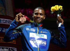 Oh No! World 200 Metres Bronze Medallist, Alex Quinonez Shot Dead