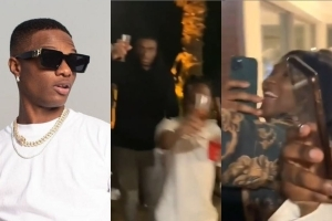 Watch Video Of Wizkid's Birthday Party In London