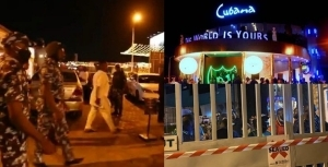 Lagos Govt. Seal Off Cubana Night Club For Operating Despite Ban (Video)