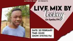 Teekay – Eyethu FM Mix