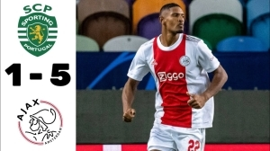 Sporting vs Ajax 1 − 5 (Champions League 2021 Goals & Highlights)