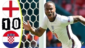 England vs Croatia 1 − 0 (EURO 2020 Goals & Highlights)