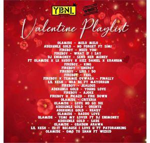 DJ Enimoney – YBNL Valentine's Playlist