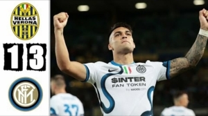 Hellas Verona vs Inter Milan 1 - 3 (Serie A 2021 Goals & Highlights)