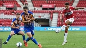 Middlesbrough 4 Vs 3 Shrewsbury Town (League Cup) Highlights