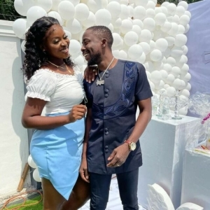 """You Accepted Me 5 Years Ago When Hunger Wan Finish Me"" – Singer, Erigga Celebrates Wife (Video)"