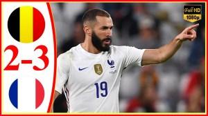 Belgium vs France 2 − 3 (UEFA Nations League 2021 Goals & Highlights)