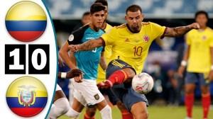 Colombia vs Ecuador 1 − 0 (Copa America 2020 Goals & Highlights)