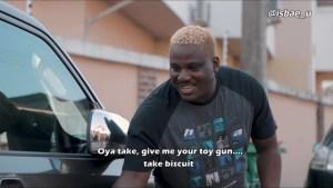 Isbae U & TheCuteAbiola – The Toy Gun (Comedy Video)