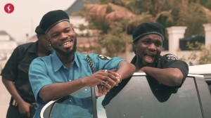 Broda Shaggi And Officer Woos Caught By The Real Officers (Comedy Video)