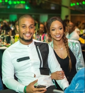 """""""This Is The Last Birthday You Will Bear Your Surname"""" - Alex Ekubo Says As He Celebrates Fiancee"""