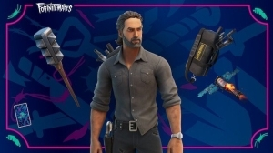 The Walking Dead's Rick Grimes Is Now Available in Fortnite
