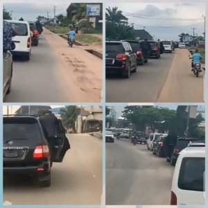 Emeka Ihedioha And His Convoy Arrive In Owerri In Fashionable Manner (Video)