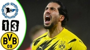 Arminia Bielefeld vs Borussia Dortmund 1 - 3 (Bundesliga 2021 Goals & Highlights)