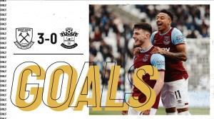 West Ham vs Southampton 3 − 0 (Premier League Goals & Highlights 2021)