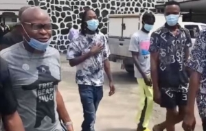 Video Of Naira Marley Arriving Court Today For Fraud Trial