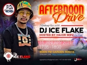 Dj Ice Flake – Eden FM Afternoon Dive Mix