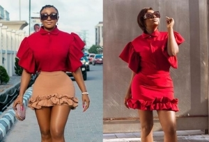 SEE Ini Edo's EPIC Reaction To Yvonne Jegede's Latest Photo