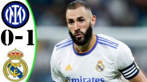 Inter Milan vs Real Madrid 0 - 1 (Champions League 2021 Goals & Highlights)