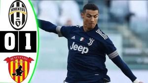 Juventus vs Benevento 0 - 1 (Serie A Goals & Highlights 2021)
