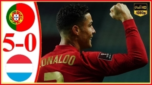 Portugal vs Luxembourg 5 − 0 (2022 World Cup Qualifiers Goals & Highlights)