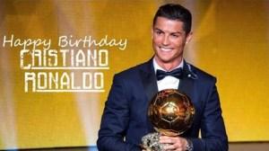 Fans celebrate Cristiano Ronaldo as he turns 35 (Videos)
