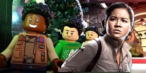 LEGO Star Wars Holiday Special Adds Billy Dee Williams & Kelly Marie Tran