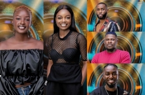"""#BBNaija 2021: """"Four Boys Are In Love With Saskay In This House"""" – Arin Tells Peace"""