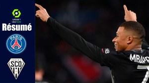 PSG vs Angers 2 - 1 (Ligue 1 2021 Goals & Highlights)