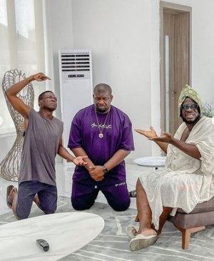 """In My 10years Of Content Creating, I've Never Come Across Such Humility"" – Craze Clown Hails Don Jazzy"