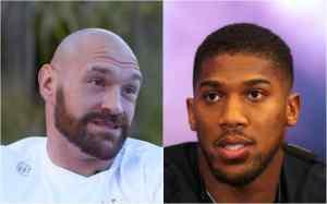 'He's finished' – Tyson Fury advises Anthony Joshua to retire