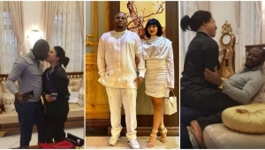 Olakunle Churchill Celebrates Rosy Meurer In Disguise As Tonto Dikeh's New Lover Hits The Internet