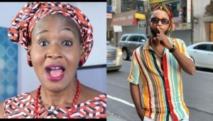 """""""Line Of Respect I Have For You Ends Here"""" – Rapper Yung6ix Bashes Kemi Olunloyo For Celebrating Donald Trump On His Birthday"""