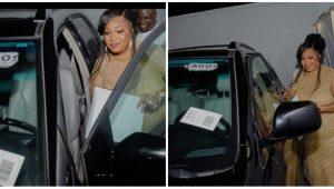 Jaiye Kuti Gets Surprise Car For Her Birthday (Photo)