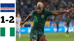 Cape Verde vs Nigeria 1 - 2 (2022 World Cup Qualifiers Goals & Highlights)
