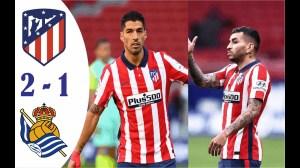 Atletico Madrid vs Real Sociedad 2 - 2 (LaLiga 2021 Goals & Highlights)