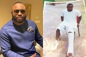 Tonto Dikeh's Ex-Husband, Olakunle Churchill Narrates How A Ghastly Power Bike Accident Ended His Football Ambition