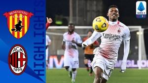 Benevento vs Milan 0 - 2 (Serie A Goals & Highlights)