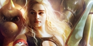Daenerys Is The Mother of Pokémon Dragons in Game of Thrones Mashup