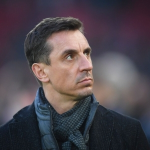 Gary Neville reacts to Maguire's performance in Man Utd's 4-2 defeat to Leicester