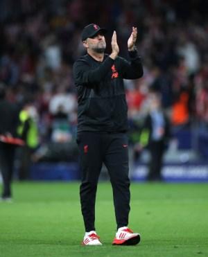 Liverpool Jurgen Klopp Atletico Madrid